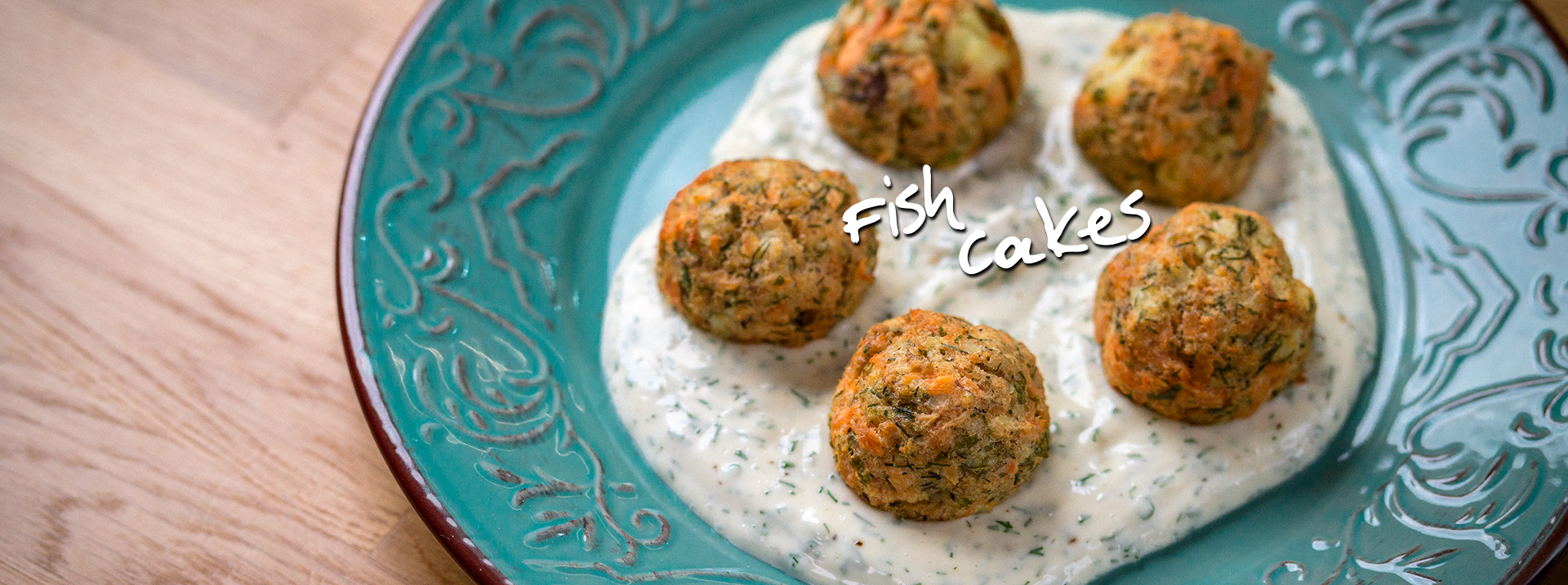Fish Cake – Kitchen FAIRY Tales by Giorgos Tsoulis